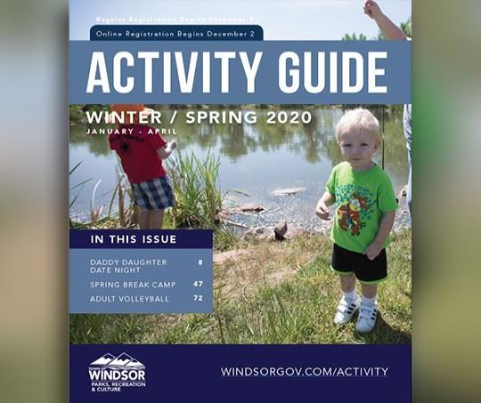 Winter Spring 2020 Activity Guide Cover