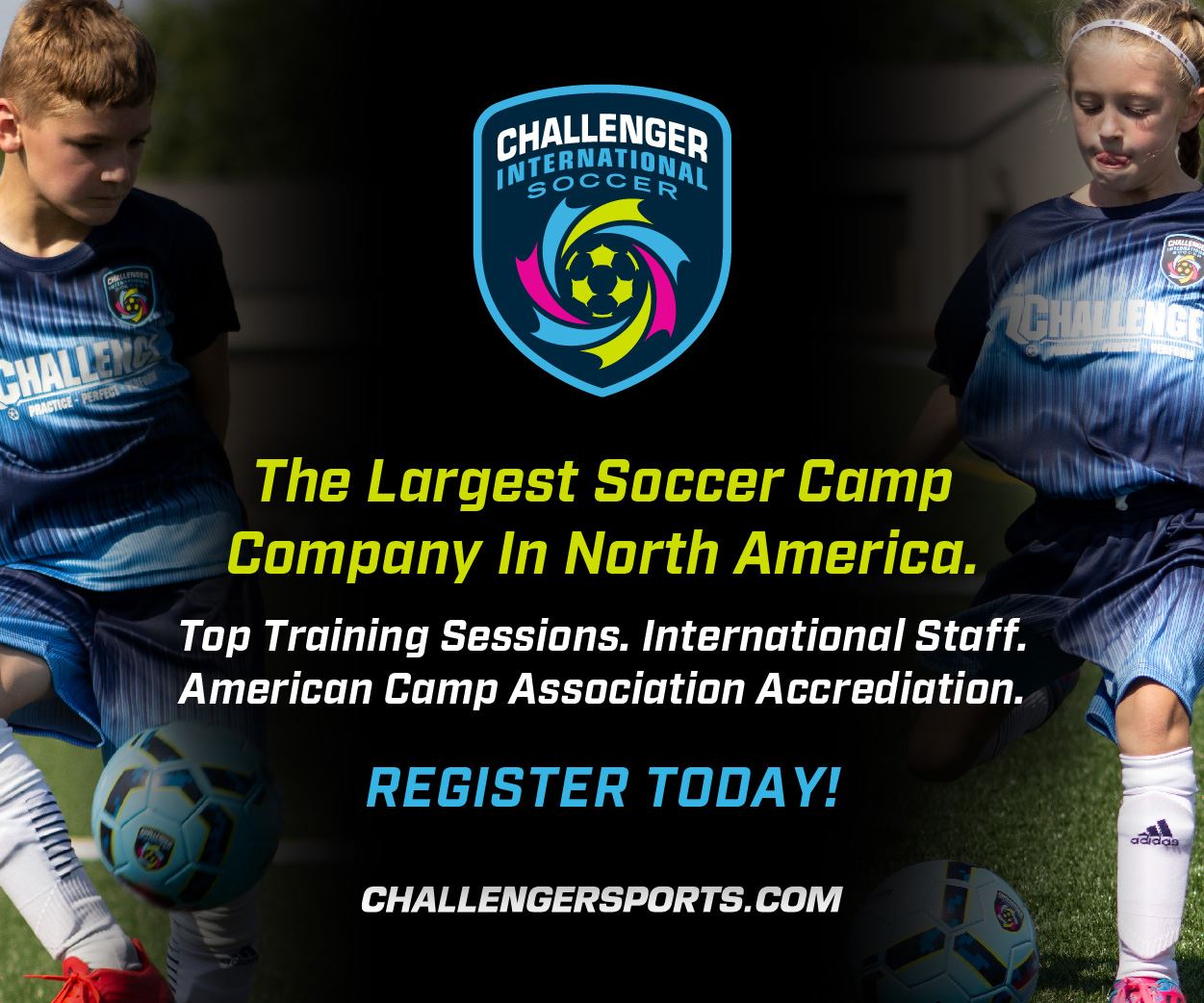 Challenger Soccer Ad Image
